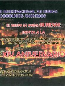 XIV ANIVERSARIO DEL GRUPO 24 HORAS OURENSE