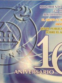 XVI Aniversario del Grupo 24 Horas Ourense (España)