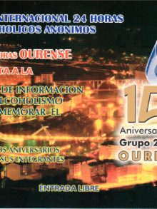 XV aniversario del Grupo 24 Horas Ourense de Alcohólicos Anónimos