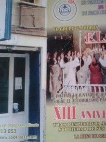 XIII Aniversario Grupo 24 Horas Elche de A.A.